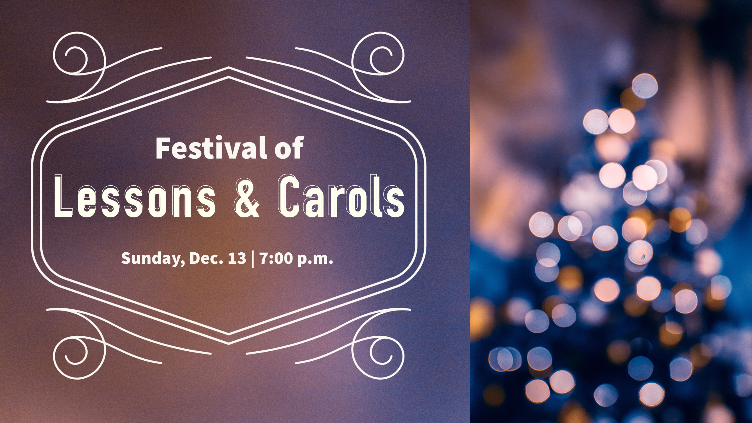 festival of lessons carols
