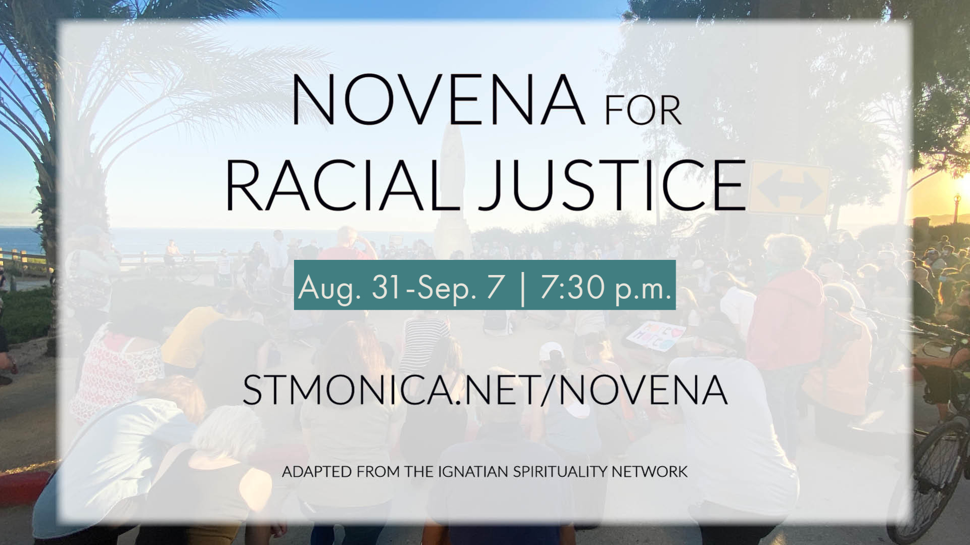 novena for racial justice website