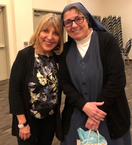 Joanne Dietch and Sister Rose Pacatte